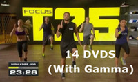 Cheap Brand New Sealed T25 Focus Workout Program With Resistance Band Body Building High Definition Alpha Beta Gamma Core Speed 14 DVDs Video
