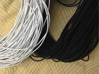 Cord & Wire bungee cord - 3MM meters Black Elastic Band Stretch Rope Bungee Cord Strings DIY Accessories