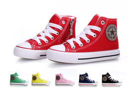 Wholesale Hot Best Selling Children Canvas Shoes kids sports sneakers for boys and girls children shoes size