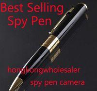 Wholesale Best Selling avi HD Spy pen Camera hidden Pen DVR with Micro SD Card Socket Hidden camera Hidden Microphone BPR6 Supmer Mini DV