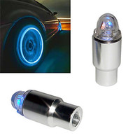 Wholesale Super Bright Blue Red Flashing LED Tire Light DIY