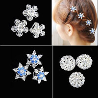 Wholesale Frozen Snow Cosplay Clips Snow Romance Headdress Hair Spiral Folder Super Flash Diamond Tiara Hair Accessories Children Tiara