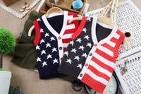 Vests Men Cotton Free Shipping,2013 autumn !!baby vest, the boy . Children's clothing Male baby cool vest (4 set lot),