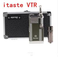 Single Multi Metal New Innokin itaste VTR E-cigarette kit Model 3.0ML iClear 30S atomizer Clearomizer vaporizer iTaste VTR ego kit DHL Free