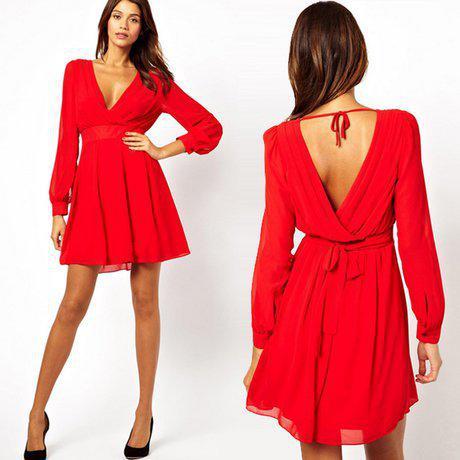 2014 deep v neck long sleeves slim dress elegant chiffon sexy clubwear party mini dresses c119. Black Bedroom Furniture Sets. Home Design Ideas