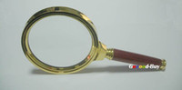 Wholesale 4x mm noble Jewelry magnifier fine magnifing loupe Glass Lens