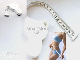Wholesale 1000pcs Accurate Diet Fitness Caliper Measuring Body Waist Tape Measure Free Ship