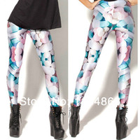 Wholesale Brand VANSIN L64 Crazy hot sale Galaxy Leggings Sugar candy pills printed Colour Fastness Free size FREE SHIP