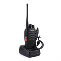 Wholesale Handheld Radio Retevis H Walkie Talkie UHF W CH Single Band Way Radio Black A1044A