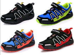 Wholesale New arrival Salomon Child Sport Shoes Boys and Girls Sneakers Casual Athletic Shoes Children s Running Shoes for Kids Color Size
