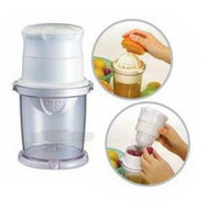 Ceramic apple juice - Multi functional Lemon Fruit Citrus Lime apple grape Orange Stem Sprayer Juice Maker Juicer Kitchen Tool
