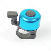 New TD0445 metal Free shipping!10pcs lot Metal Ring Handlebar Bell Sound for Bike Bicycle Blue