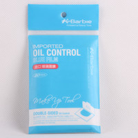 Wholesale Imported Facial Face Clean Oil Control Paper Powerful Absorbing Blotting Blue