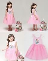 Coming Soon 2014 Summer HOT Frozen Dress Elsa Anna Print Gir...