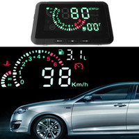 head up display hud - 2014 Car HUD Head Up Display Vehicle mounted Security System With OBD2 OBD Interface Overspeed Warning Fuel Consumption W01 K1200