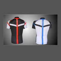 Wholesale 2014 NEW Style Professional Men s Cycling Jersey Shirt Bike Bicycle Riding Short Sleeve Shirt Blue Red H10619