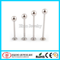 Wholesale 316L Surgical Steel Cheek Piercing Labret Unique Labret Jewelry