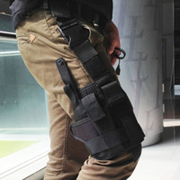 Wholesale Outdoor Hunting Tactical Puttee Thigh Leg for Gun Holster Pouch Wrap around bag