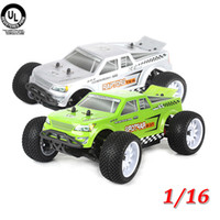 Wholesale 2014 NEW Scale Miniature Car Model Brushless Motor KV WD Electric Off road Truggy Kit Remote Control Silver Green RM480