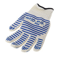 Wholesale cooking tools bakeware tricot Oven Glove Heat Proof Resistant for Right Left Hand Protective Universal kitchen gloves H10914