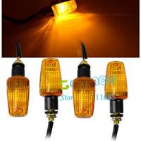 Wholesale Universal x Motorcycle Turn Signals Indicators Plastic Turning Lights Drop Shipping TK_CB181 moto_ht