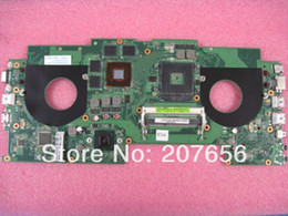 Wholesale motherboard for ASUS G46VW notebook sysboard board P N NMMMB1100 E02 R NMMMB1100Y GT660M video card