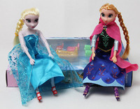 Wholesale Frozen Princess ELSA ANNA Frozen quot toys Doll Set pair of Shoes