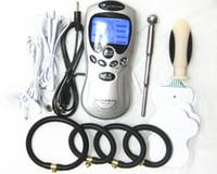 Electric Shock Body Massager Therapy Machine Male Masturbato...