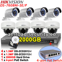 Complete Kit of HIKVISION 8CH PoE NVR DS- 7608NI- SE P + 2TB HD...