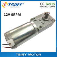 Wholesale Dayton DC V High torque rpm Worm Gear Motor Planet geared motor from TSINY MOTOR