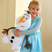 Wholesale 10pcs New Movie Frozen Olaf the Snowman Plush Figure Kid Doll quot cm Teddy Toy Gifts