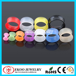 Wholesale Body Piercing Jewelry Silicone Tunnel