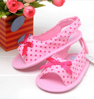 Wholesale maxi freeshipping m438 Summer denim sandals shoes baby shoes First Walker Shoes antiskid shoes Toddler shoes colors for choose