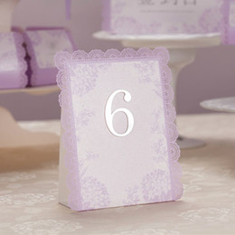 Wholesale Non Personalized Romantic amp Fantastic Lavender Wedding Place Cards for Wedding Party