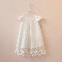 baby girl kids lace dress crochet dress crocheted dress holl...