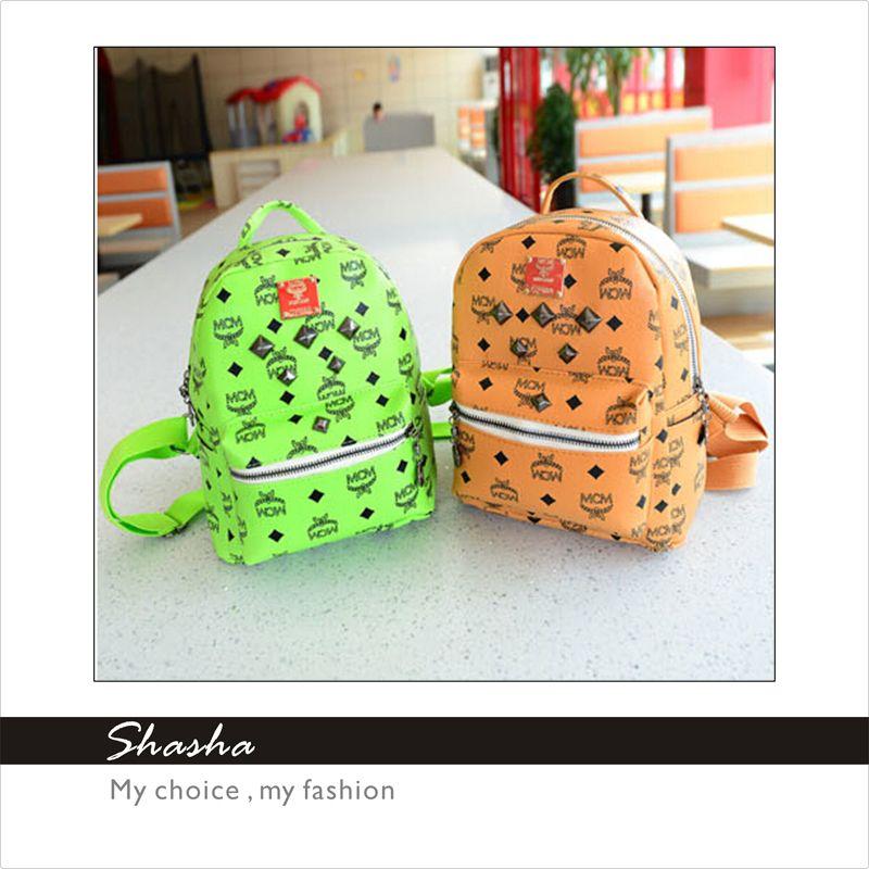 Women Fashion Mini Shoulder Bag Kids Children School Bags Famous ...