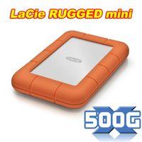 External 500gb external hard drive - Brand LaCie Rugged mini GB external hard drive disk mobile HDD USB3 original product years warranty drop