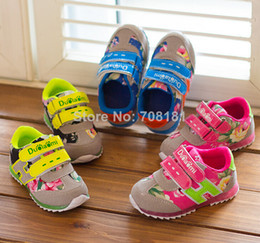 Wholesale New spring autumn children girls boys fashion casual Korean sport shoes baby flower letters Z shoes hat sale
