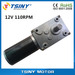 Wholesale Tiny DC V Worm Gear box Electric Motor rpm Reducer from TSINY MOTOR