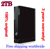 External HDD Yes SGT 3.5' SATA 2TB mobile HDD portable external hard disk USB3.0 7200rpm original product with power adapter drop free shipping