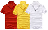 Men Short Sleeve Viscose 2014 Fashion Summer Men's Short Sleeve Polo Shirts Casual sports T-shirts men Short sleeve Casual T Shirts Men Basic T-shirts size M-XXL