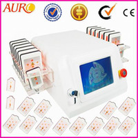 AU-64 diode laser - Promotion laser pads Diode laser lipolysis for body weight loss slimming beauty equipment AU