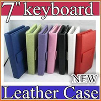 Wholesale SH Leather Case with Micro USB Interface Keyboard for inch MID Tablet PC JP07
