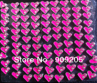 Charms Traditional Charm Hearts, Love 2014 Wholesale Two Crystals Heart Floating Charms For Glass Locket 20 Pieces Lot hyfc78