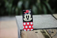 Wholesale Newest D Cute Cartoon Duck Minnie Mickey Mouse Pig tpu Case For i phone s Freeshipping