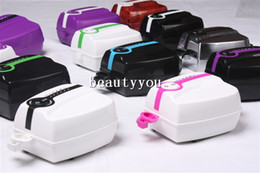 Wholesale Portable Makeup Airbrush Mini Air Compressor with Spray Gun kit Speed Airbrush tattoos cake bakery h Working