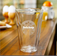Glass starbucks - New OZ Starbucks Bodum Bouble Wall Glass Beer Coffee Mugs And Cups Tea City Mug Creative Drinkware Gift