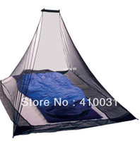 Wholesale KIKAR Outdoor Mosquito Net Camp Shield Pyramid Backpacking Tent Netting Garden Yard Bug Fly Screen Shelters Airbed Survival Kit