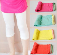 Cheap 2014 New Children's Leggings Tights Nice Fashion Legging Gril's Summrt Leisure Legging ,5 Sets Lot Z0613-12