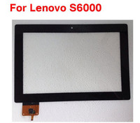 Wholesale Original inch Replace Touchscreen with Digitizer For Lenovo S6000 touch screen touch panel Black color